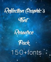 Reflection Graphics Font Resource Pack by reflectiongraphics