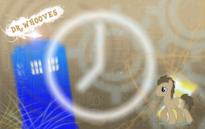 FiM: Dr. Whooves Wallpaper by M24Designs
