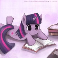 Twilight Sparkle by sunshineikimaru
