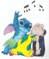 Lilo and Stitch by Djehuti