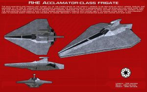 RHE Acclamator-class frigate ortho [New] by unusualsuspex