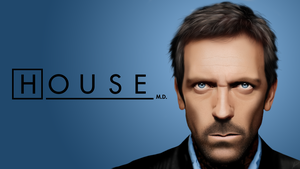 Dr. House - Wallpaper version by berserk2k