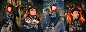 Steampunk photoshoot by Verope