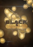 Black and Gold Party by andraspop