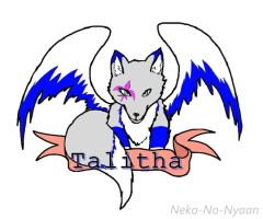 Talitha Badge [P.C. - Winged-Wolf22TM] by CrypticGrin