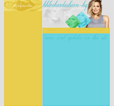 Ordered Layout ft. Khloe Kardashian by Kate-Mikaelson