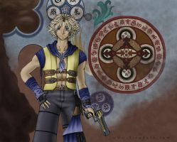 A new Gunner Tidus by Jessami