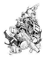 JUDGE DREDD_90 minutes by EricCanete
