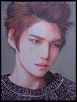 colored pencils' drawing -kim jae joong by TheLife-IsArt