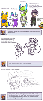 Comic: The Boss Man by Uluri