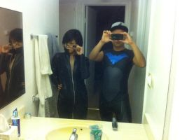 YJ!nightwing progress/bad photo by ohjimmyboy