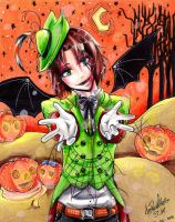 Aph Lithuania Halloween by MelindaPhantomhive