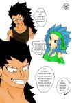 Why Gajeel wanted  Levy to be his weapon (P.1) by piranha-pk