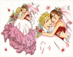 TamaHaru:.:fruitful wedding:. by Wolfchild101