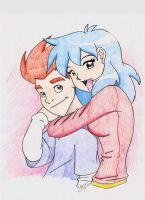 Kappa Mikey: Mikey and Mitsuki by Aeolus06