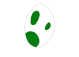 Yoshi Egg Sketch by MarioPhineas76