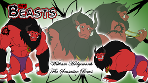 Commission - Beasts Wallpaper 7 - William by BennytheBeast