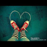 red hearts. by Camiloo
