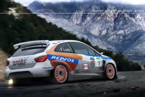 Seat Ibiza Super 2000 by EvolveKonceptz