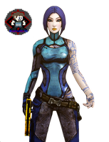 Borderlands 2 Maya Render by finalreality56