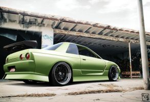 Skyline R32 by RDJDesign