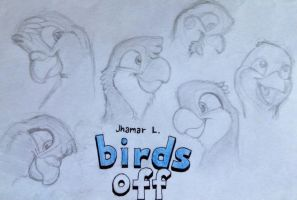 BIRDS OFF(New Title) by SammfeatBlueheart