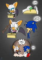 Dammit Sonic! - Rouge by AZ-Derped-Unicorn