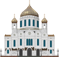 Cathedral of Chist the Saviour by Herbertrocha