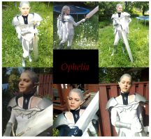 Ophelia cosplay collage 2 by GenerallyInsane