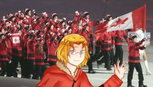 GO TEAM CANADA by animeGirlRandom
