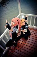 Vocaloid goes PokerFace - Rin and Luka by ferpsf
