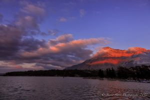 Waterton Lake Sky by Mac-Wiz