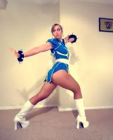Chun-Li Pose Practice by TheFineTrouble