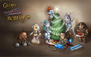 Glory to the Holidays by Noxychu