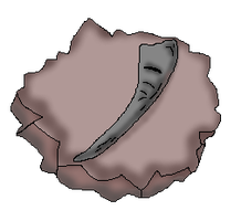 Tusk Fossil (CoC Fossil) by Dianamond