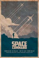 Space Command Poster by Ihlecreations