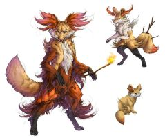 Realistic Pokemon: Fennekin Evolution Line