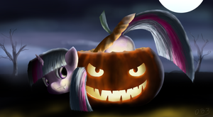 Halloween Filly Twilight by mmtOB3