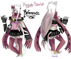 .::X Kimberly Scarlet -Reference- X::. by Mako-chii
