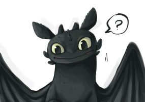 Toothless by Haya-Huang