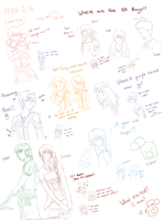 XIII-2 sketch dump by DeviCaity