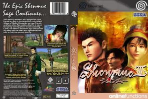 Shenmue 3 Box Art by orient04