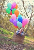 In balloons by Burder
