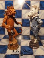 Alice Chess Pieces by Beishung