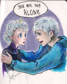 You are not alone!!! by AwyrGreen