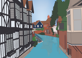 Canterbury River by bradley-meader