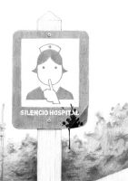 Silencio, Hospital by pabloyungblut