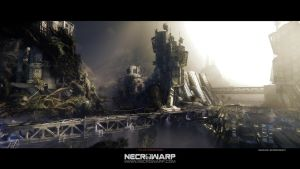 Necrowarp - Arcade Game Art Project - Image 04 by MadMaximus83