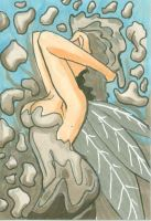 Silver Fairy ACEO by caskippe