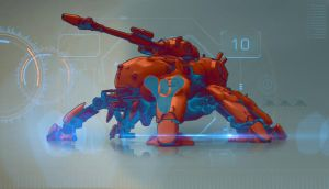 Spider Tank Wp 2 by INVID-ATTAK